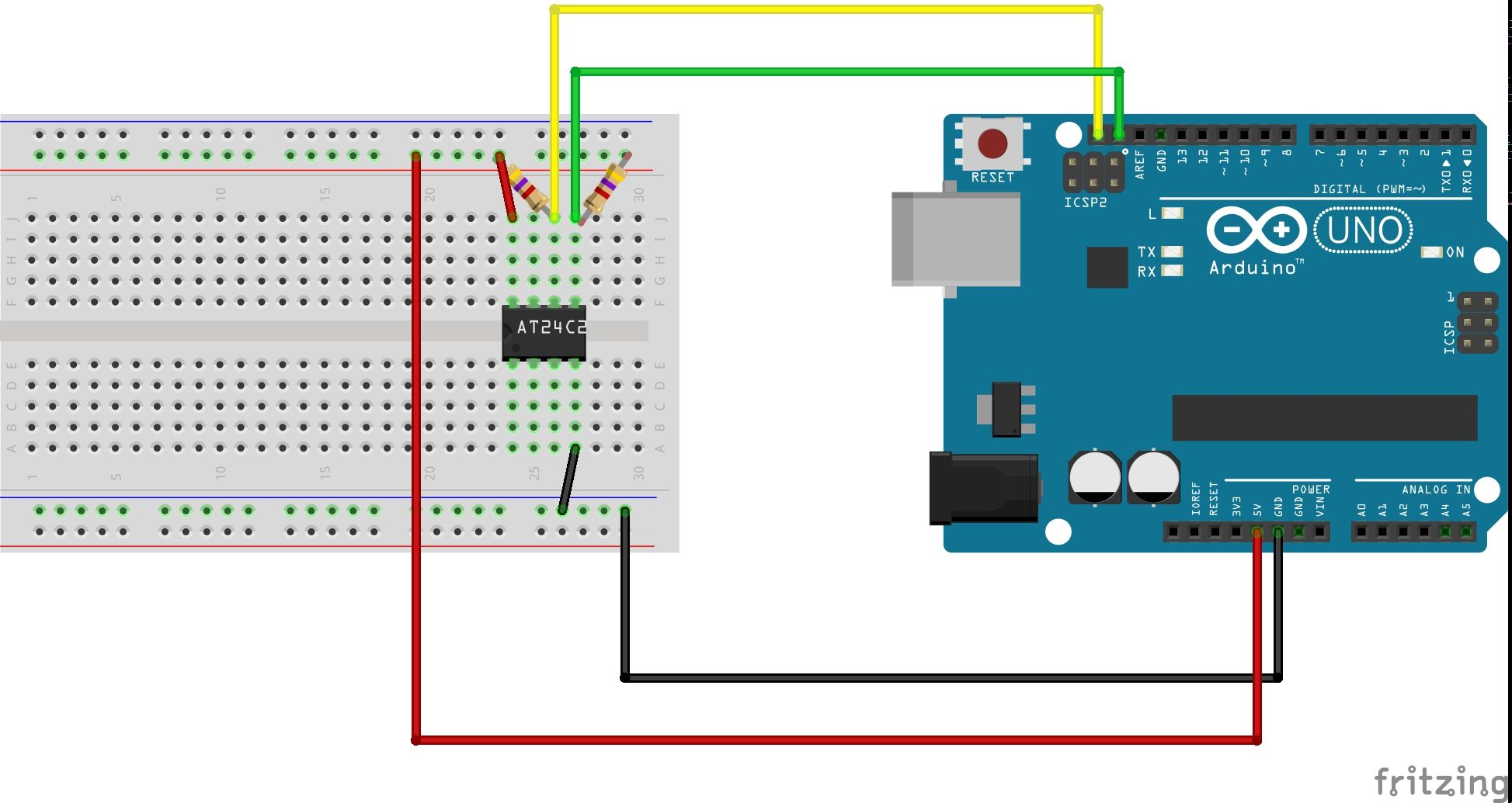Expand Your Arduino's Storage with an External EEPROM Part II: Reading from the AT24C256 – A Tutorial in How to Use the I2C Protocol Continued