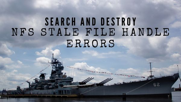 Automatically Resolve NFS Stale File Handle Errors